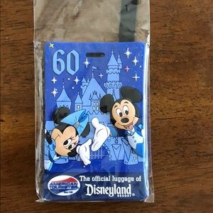 Official Disney 60th Anniversary Luggage Tag